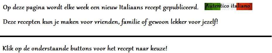 tekst recepten